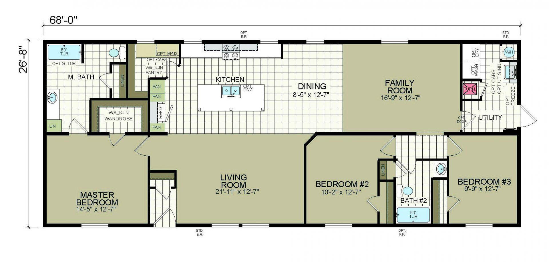 Redman Homes Floor Plans Viewfloor Co